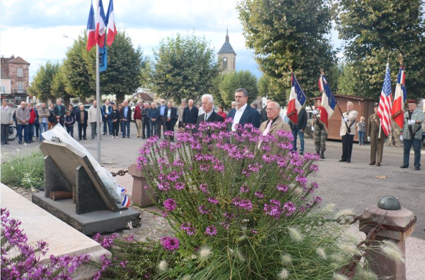 anniversaire de la libération de Saint-Loup 16 09 17