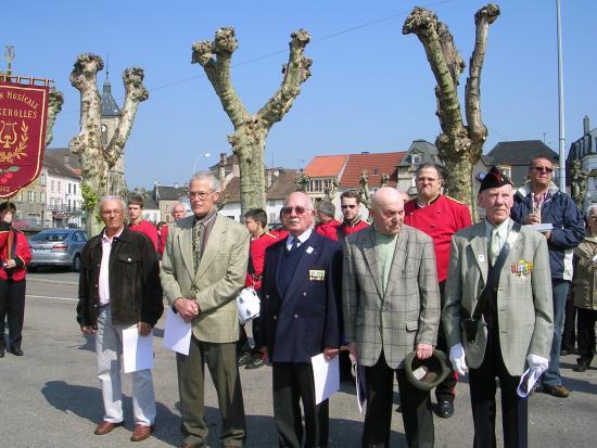 A Saint-Loup, 8 anciens combattants de la guerre de 39-45 mis à l'honneur