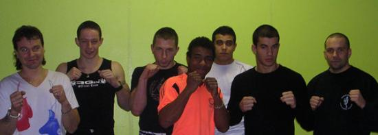 Championnat de Franche-Comté de Boxe Thaï au gymnase municipale de Saint Loup